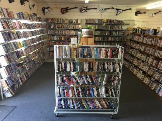 Redding Video Store For Sale