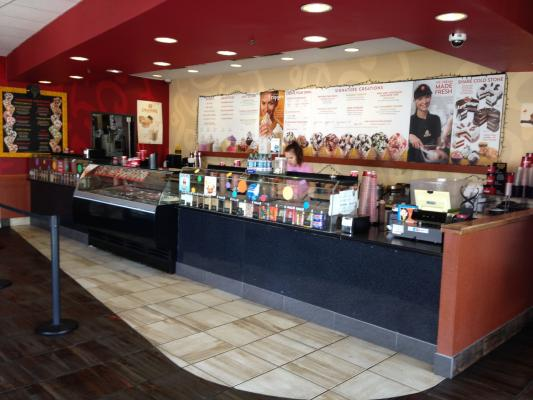 Los Angeles County Area Cold Stone Creamery Ice Cream Franchise Store For Sale