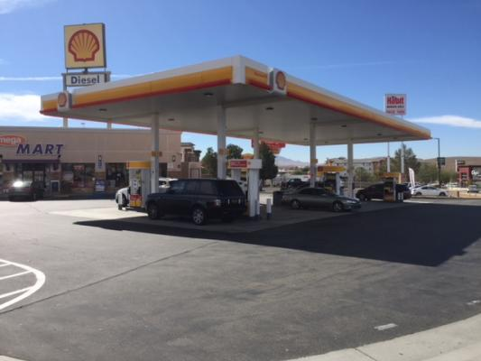 Barstow, San Bernardino County Shell Gas Station C Store - With Land For Sale