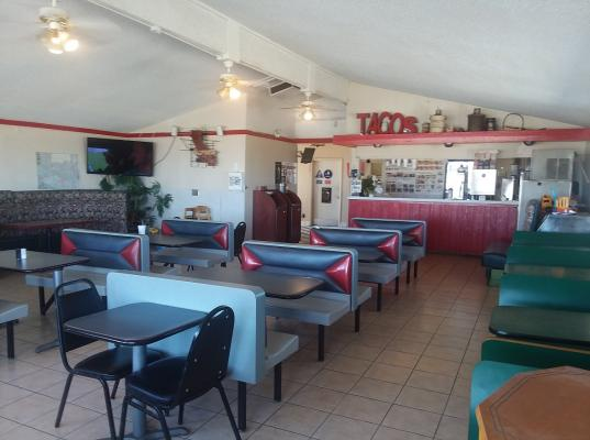Drive Thru Burger Restaurant, Property - Large Lot Company For Sale