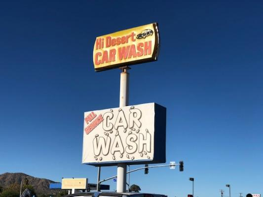 Selling A Yucca Valley, Riverside County Car Wash With Real Estate