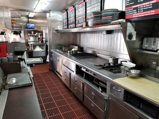 Hamburger Restaurant With Drive Thru Business For Sale