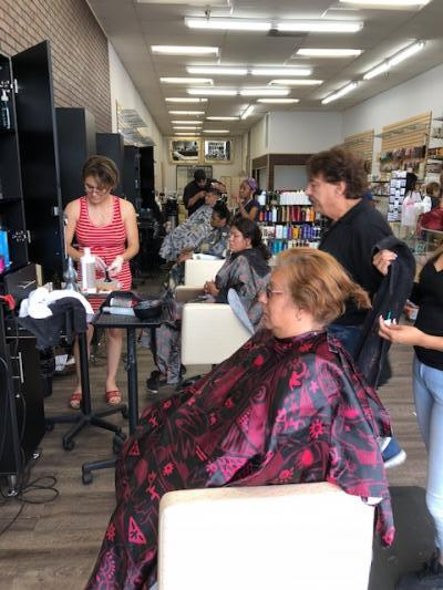 Los Angeles Downtown Area Beauty Supply, Hair Salon - Established 35 Years For Sale