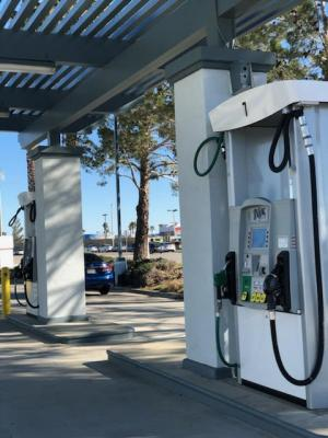Palmdale, LA County Gas Station With Mart, Oil Change, Real Estate For Sale