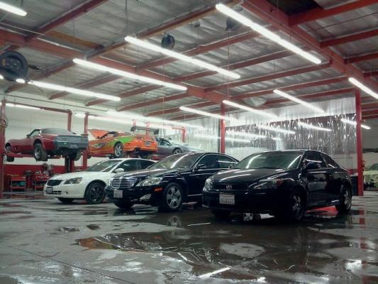Los Angeles County Auto Body Shop For Sale