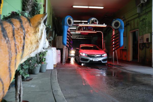 South Bay, Los Angeles County Express Car Wash With Real Estate - Absentee Run For Sale