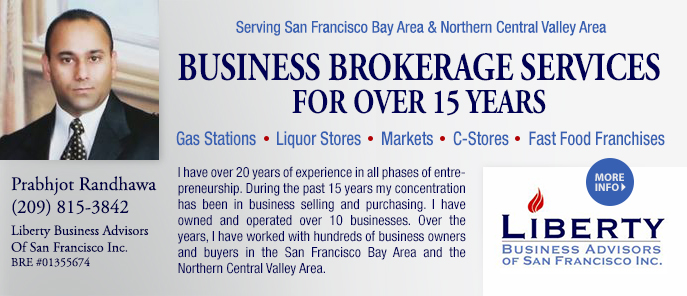 Prabhjot Randhawa Business Broker SF Bay Area