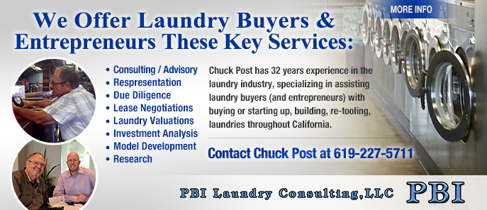 Chuck Post Laundromat Industry Expert