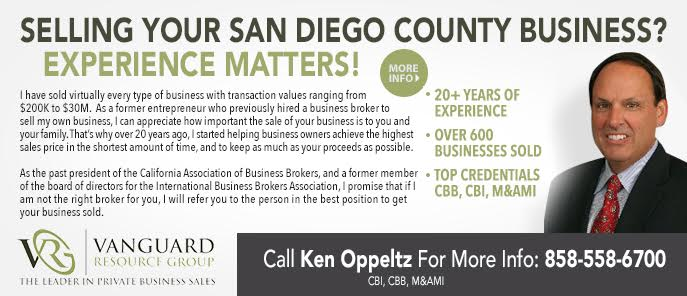 Ken Oppeltz, Business Broker
