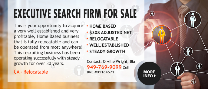 Executive Search Business For Sale