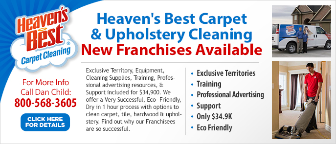 California New Cleaning Franchises For Sale