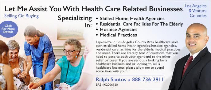 Health Care Broker Ralph Santos