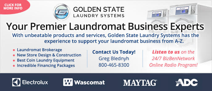 Golden State Laundry System Laundry Business Brokers