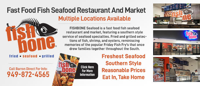 Fish Bone Restaurants Markets Southern California