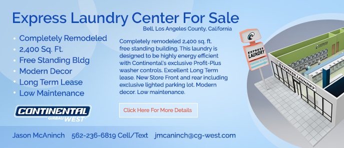 LA County Coin Laundry For Sale