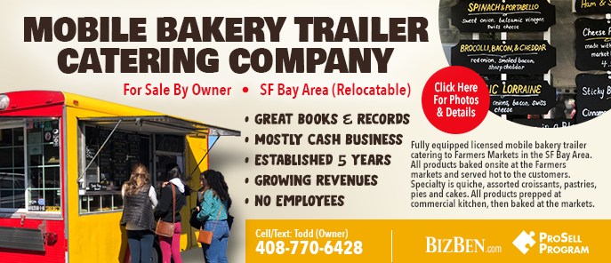 Catering Bakery Truck For Sale By Owner
