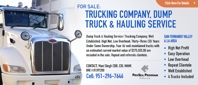 Hauling Trucking Company For SAle