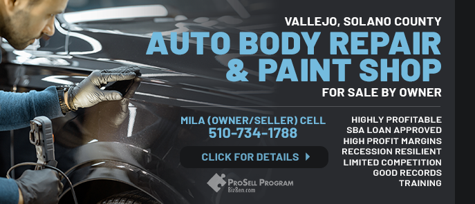 Auto Body Repair And Paint For Sale Shop High Cash Flow