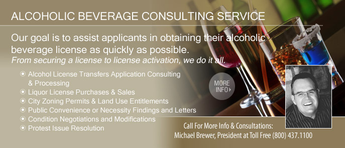 Michael Brewer, ABC License Consultant
