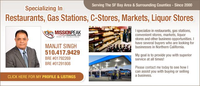 SF Bay Area Business Broker