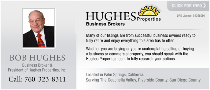 Bob Hughes Business Broker Riverside County San Diego