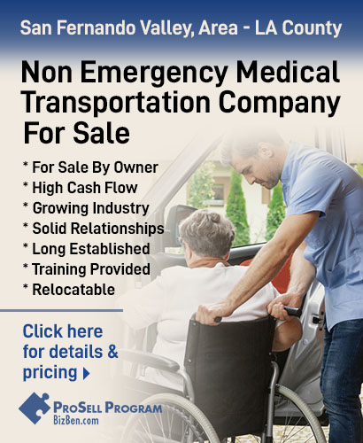 Medical Transportation Service For Sale