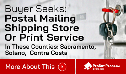 Buyer Seeks SF Bay Area Postal Store