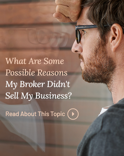 Why Businesses Do Not Sell
