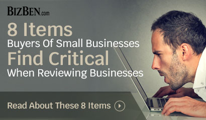8 Items Business Buyers Look At