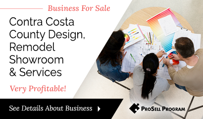 Contra Costa Design Showroom For Sale