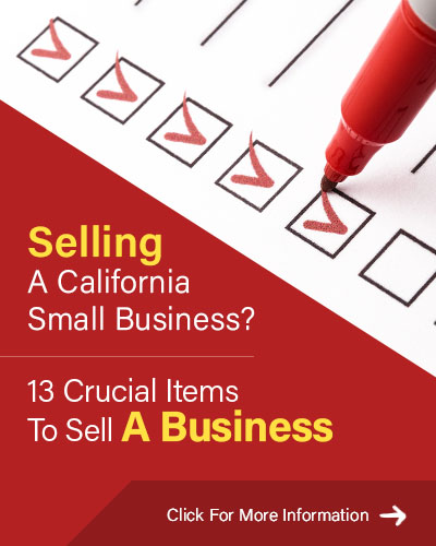 13 Critical Items Selling A Business