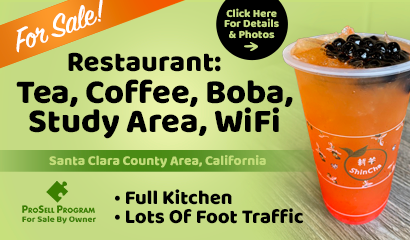 Boba Tea Shop For Sale