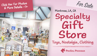 Montrose Los Angeles Gift Store For Sale