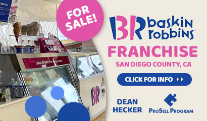 San Diego California Baskin Robbins Franchise For Sale