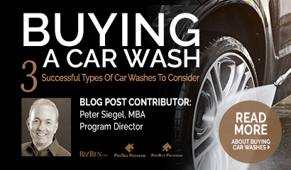 Buying A Car Wash 3 Types