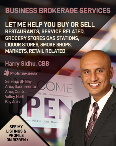 Harry Sidhu Business Broker