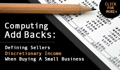Defining Sellers Discretionary Cash