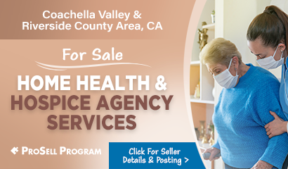 Home Health Businesses Selling In Coachella Valley California