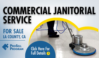 Commercial Janitorial Service In LA County For Sale