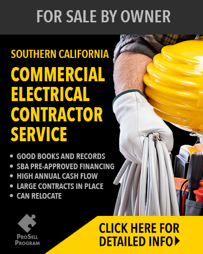 Southern California Electrician Service For Sale