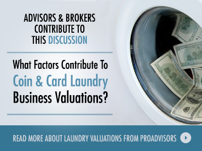 Coin Card Laundry Business Valuations