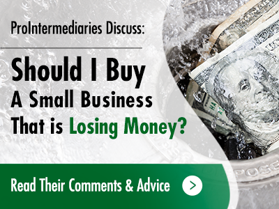 Buying A Business Losing Money