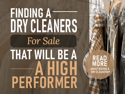 How To Buy A Dry Cleaners