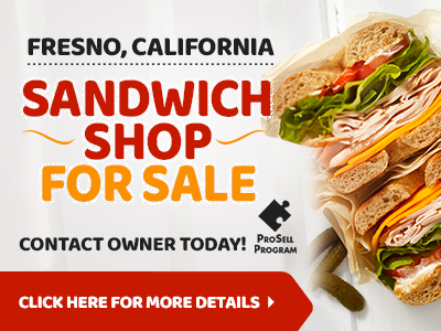 Fresno County Sandwich Shop For Sale By Owner