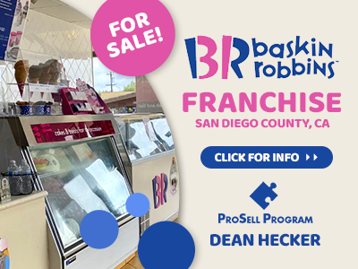 San Diego Area Baskin Robbins For Sale