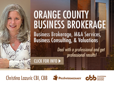 Christina Lazuric Business Brokerage Services