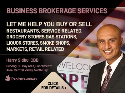 Harry Sidhu Business Brokerage Services
