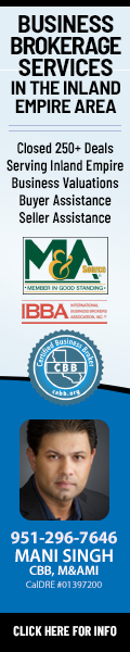 Mani Singh Business Broker Inland Empire