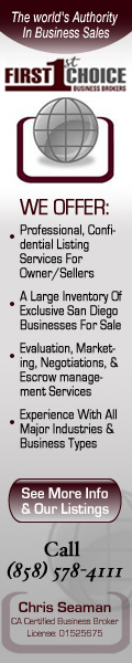 Chris Seaman Business Broker San Diego