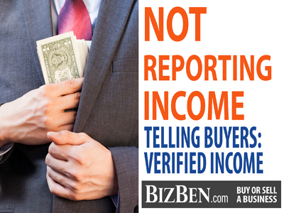 Unreported Income Selling A Business